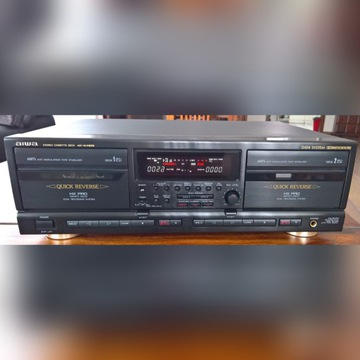 AIWA AD-WX929 magnetofon dwukasetowy 2Head sprawny