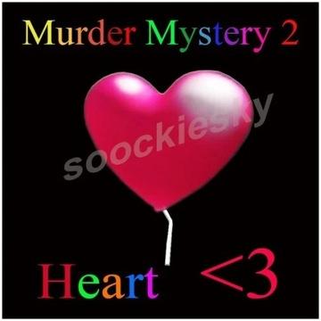 ROBLOX Murder Mystery 2 Heart PET
