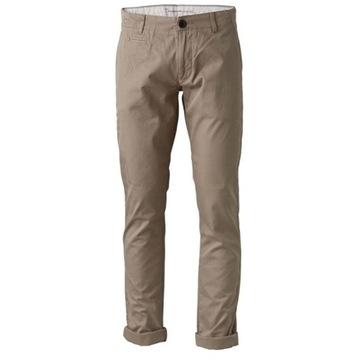 Spodnie knowledge cotton beige 29/32