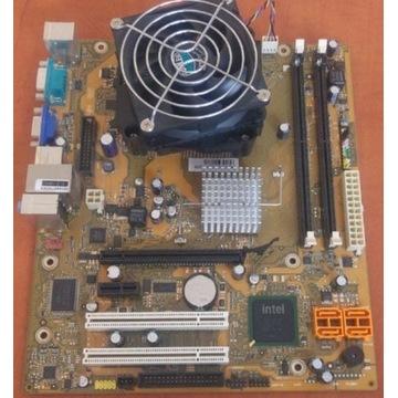 Płyta główna D2841 + C2D E8500 2x3,16GHz + cooler