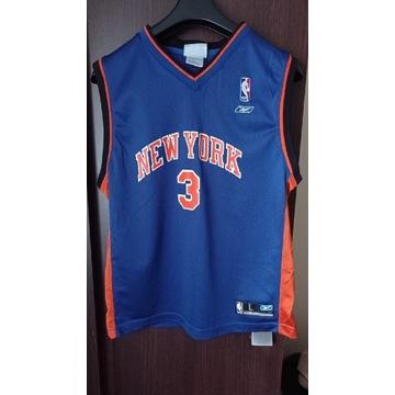 Koszulka koszykarska Stpehon Marbury New York.
