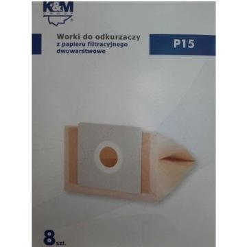 Worki do odkurzacza K&M P15 AMICA PHILIPS 8szt