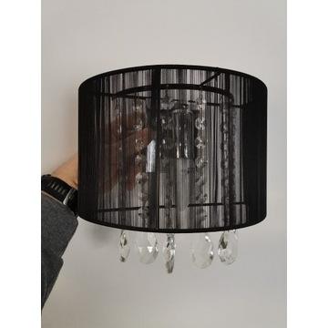 Zestaw lamp z kryształkami