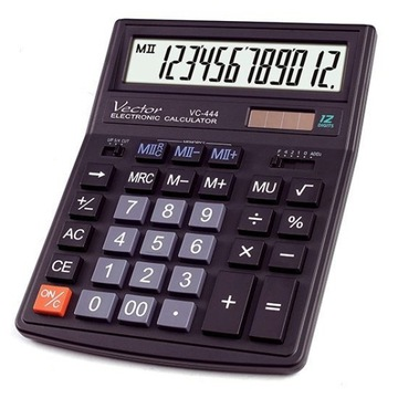 Kalkulator biurowy Vector VC-444