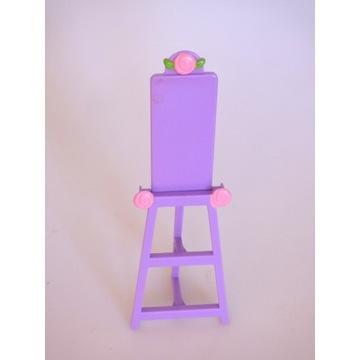Sztaluga dla Barbie Chelsea Evi meble dla lalek
