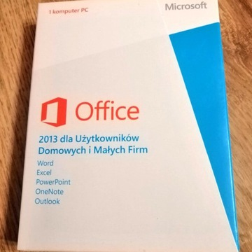 Microsoft Office 2013 Home and Business BOX FVAT
