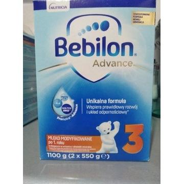 Mleko modyfikowane Bebilon Advance 3