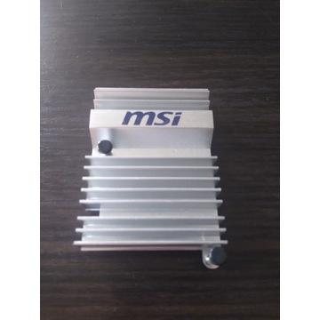 Radiator MSI kolor srebrny