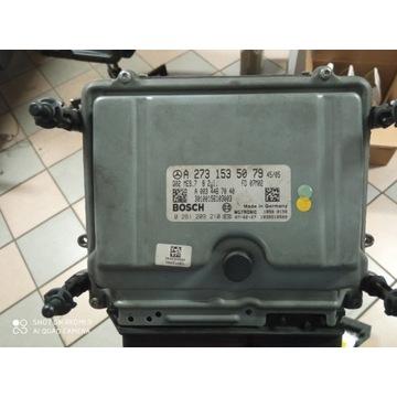 Sterownik ECU Mercedes W221 W216 A2731535079