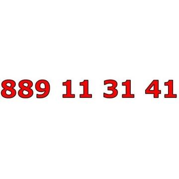 889 11 31 41 T-MOBILE ŁATWY ZŁOTY NUMER STARTER