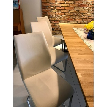 Eleganckie krzesła Mobizi - 6 szt.
