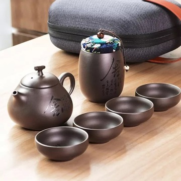 Chińskiej XiSHI Tea Pot Zestaw