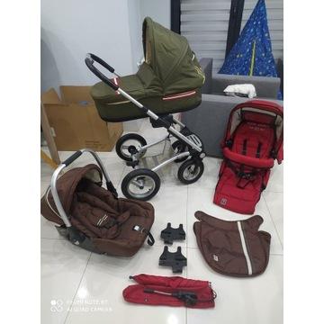 MUTSY 3w1 Wózek wielofunkcyjny dziecięcy OKAZJA