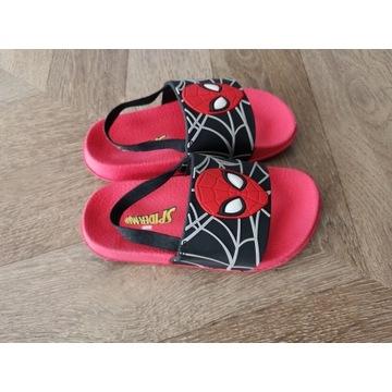 Primark klapki Spiderman rozmiar 27