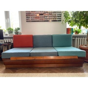 Kanapa sofa halabala vintage po renowacji