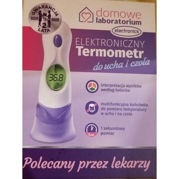 Elektroniczny termometr do ucha i czoła