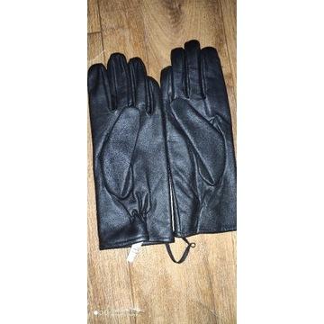 Rękawiczki zimowe skórzane rozmiar 26