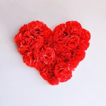 Serce dla mamy -30% prezent dzień matki kwiaty