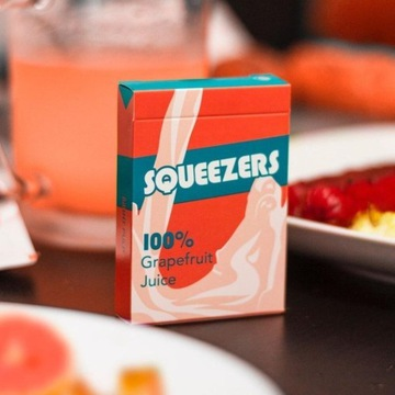 Squeezers v3 - organic playing cards/cardistry