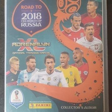 Karty Piłkarskie ROAD TO RUSSIA 2018 +Album