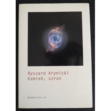 """RYSZARD KRYNICKI - """"KAMIEŃ, SZRON"""""""