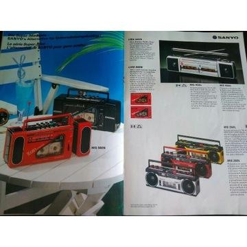 Katalog Sanyo 1986