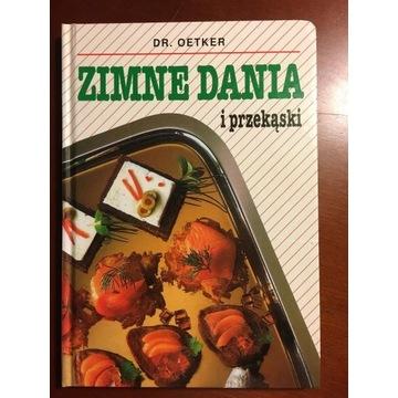 Zimne Dania I Przekąski  DR. Oetker