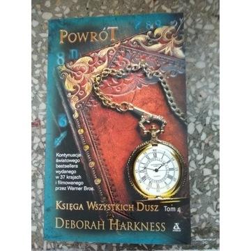 Harkness Powrot tom 4 ksiega wszystkich dusz