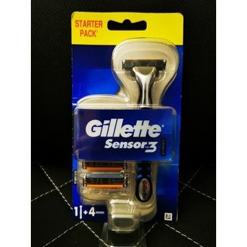Gillette Sensor 3 maszynka do golenia nowa 4 wkład