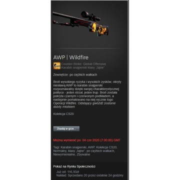 AWP Wildfire bs