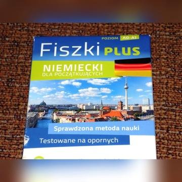 Fiszki plus - niemiecki dla początkujących