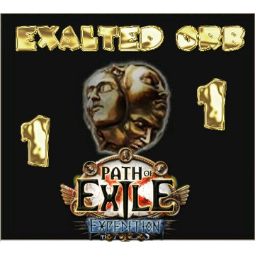 1x Exalted Orb Exalt PoE Expedition Path of Exile