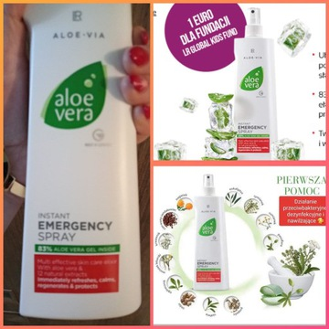Aloes Vera Emergency Spray