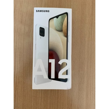 Samsung Galaxy A12 biały nowy!!!