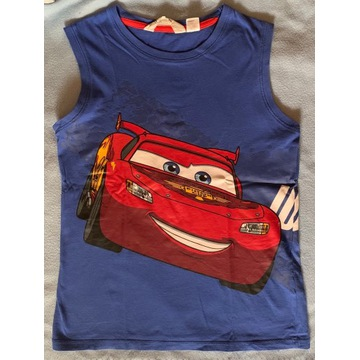 H&M r. 122 koszulka bokserka Auta Cars