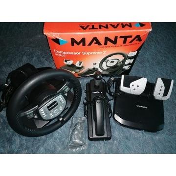 Kierownica PS3 PS2 PC Manta Compressor Supreme 2
