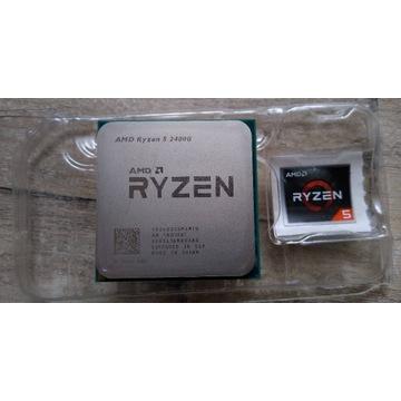 Procesor AMD Ryzen 5 2400G RX Vega 11 BOX