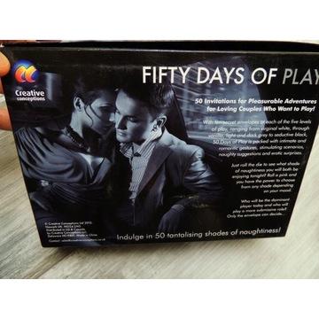 GRA EROTYCZNA SEX GREY 50 FIFTY DAYS OF PLAY
