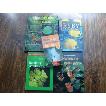 Akwarium * Zestaw książek akwarystycznych * IDEAŁ