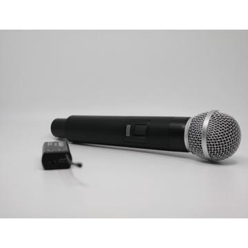 Mikrofon Bezprzewodowy UHF ręczny - Vk TM US-01