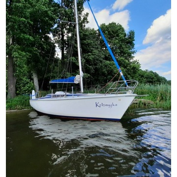 """Czarter jachtu Tango 780s """"Kołomyjka"""" Mazury 2021"""