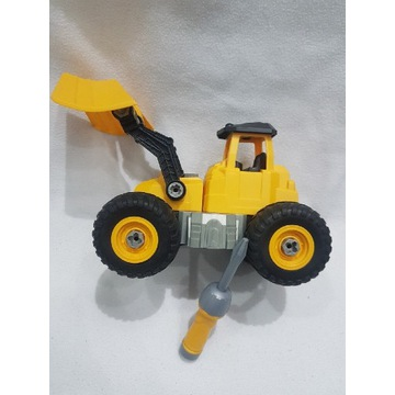 DIY Duży Traktor spychacz składanie rozkręcania