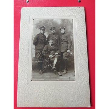 Wojsko Batdzo stare zdjęcie Duże Orginał