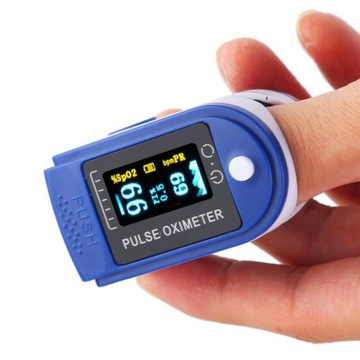PULSOKSYMETR MEDYCZNY na palec pulsometr saturator