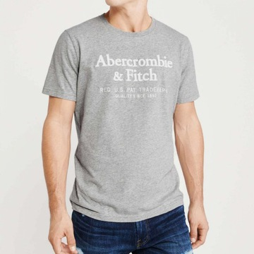 ABERCROMBIE & FITCH Applique t-shirt męski S