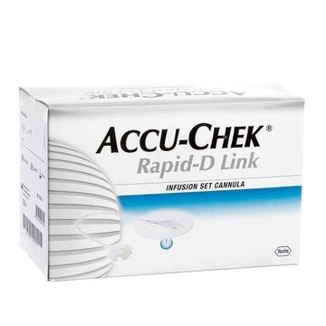 Igła Accu Check Rapid-D Link 8mm 25szt - 09.2023