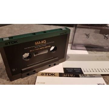 Kaseta magnetofonowa TDK MA-XG 90