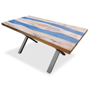 Stół 240x90x4 dąb , blat