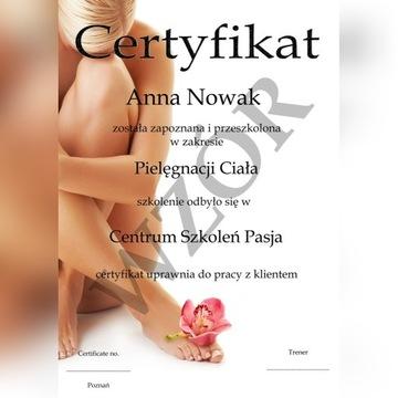 kurs kosmetyczny w domu z certyfikatem