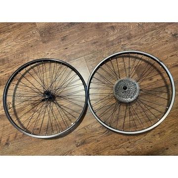 Koła 24' do roweru + kaseta 8 (11-34T)